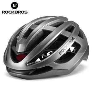 Harga rockbros helm sepeda bike ultralight helmet roadbike seli mtb hc 58   titanium   HARGALOKA.COM