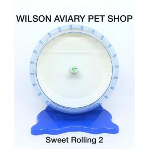 Info Jogging Wheel Sweet Rolling 02 Kincir Hamster Sugar Glider Mencit Katalog.or.id