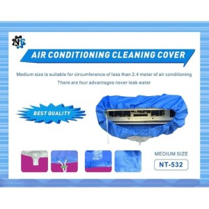 Harga plastik pelastik cuci ac cleaning cover 1 2pk   1 1 | HARGALOKA.COM