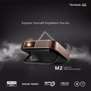 Harga projector portable viewsonic m2 wifi bluetooth harman kardon full | HARGALOKA.COM