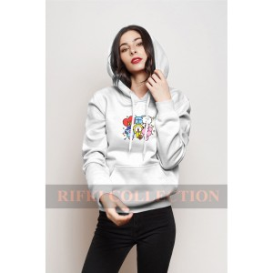 Harga jaket sweater hoodie bt21   rifki collection jaket bts | HARGALOKA.COM