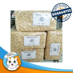 Harga serbuk kayu alas bedding sarang hamster kelinci | HARGALOKA.COM