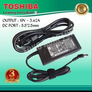 Harga adaptor charger toshiba satellite l730 l735 l740 l745 | HARGALOKA.COM