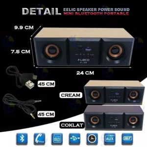 Harga speaker fleco f 30 super bass high quality extra | HARGALOKA.COM