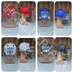 Harga topi corona anak face shield anak   spiderman full print limited   | HARGALOKA.COM