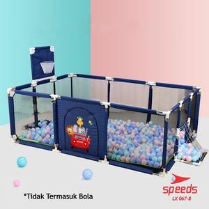 Harga speeds lx 067 8 kolam mandi bola keranjang anak mainan anak     HARGALOKA.COM