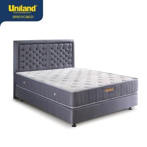 Harga uniland springbed rivera brilliant firmtop spring bed full set   beige 90 x | HARGALOKA.COM