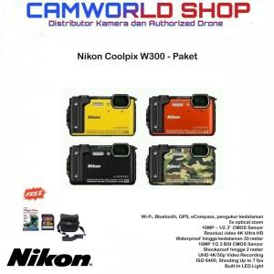 Harga nikon coolpix w300   digital camera waterproof | HARGALOKA.COM