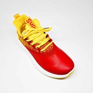 Harga gator sepatu import sneakers pria cowok bertali casual sport fz192   kuning | HARGALOKA.COM