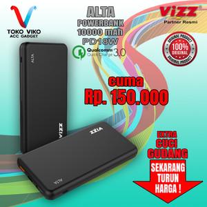 Harga vizz pb 18 alta 10000mah powerbank quick charge 3 0 power | HARGALOKA.COM