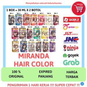 Harga miranda hair color premium semir cat pewarna rambut miranda original   | HARGALOKA.COM