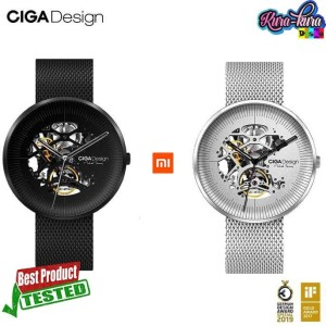 Harga xiaomi ciga my series jam tangan mechanical watch skeleton hitam | HARGALOKA.COM