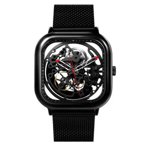 Harga xiaomi ciga t series jam tangan mechanical watch skeleton model kotak   | HARGALOKA.COM