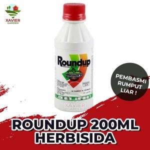 Harga roundup herbrisida 200ml pembasmi rumput liar | HARGALOKA.COM