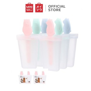 Harga miniso es krim cetakan nampan kotak beku loli ice cream mold 6   HARGALOKA.COM