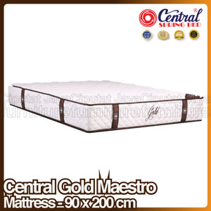Harga spring bed central gold maestro   mattress only   90 x 200 | HARGALOKA.COM