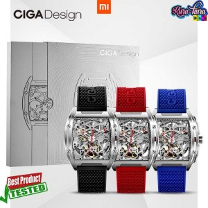 Harga xiaomi ciga z series jam tangan mechanical watch model double | HARGALOKA.COM