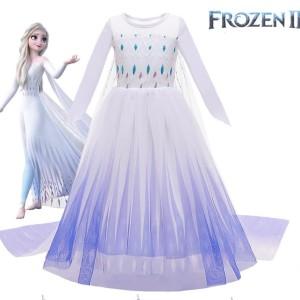 Harga kostum frozen 2 elsa baju dress pesta anak princess disney elsa anna   | HARGALOKA.COM