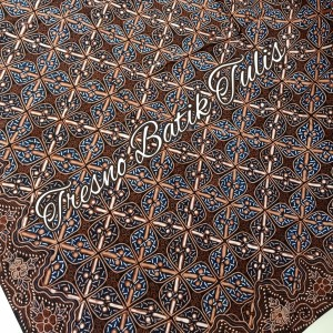 Harga batik tulis warna alam motif kawung | HARGALOKA.COM