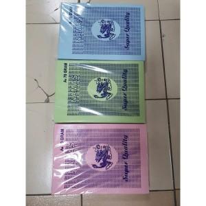 Harga kertas hvs warna 70 gr merk naga mas isi 400 lembar   a4 merah | HARGALOKA.COM