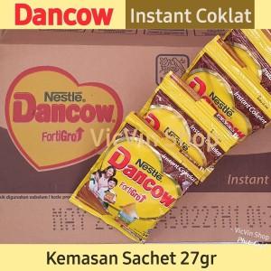 Harga susu bubuk dancow instant 27gr 1 renceng isi 10 sachet   | HARGALOKA.COM