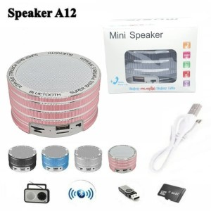 Harga speaker bluetooth portable metal wireless speker mini music box | HARGALOKA.COM