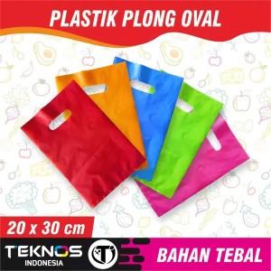 Harga plastik hd plong tebal kresek olshop packing baju ecer 20x30 | HARGALOKA.COM