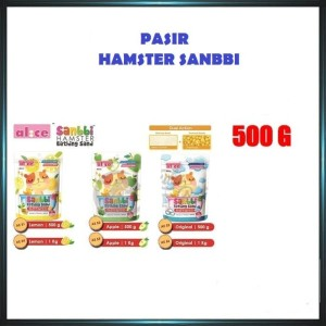 Harga jual pasir hamster sanbbi 500g   | HARGALOKA.COM