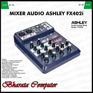Harga mixer audio ashley speed up 4 original bluetooth speed | HARGALOKA.COM