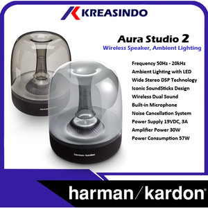 Harga harman kardon aura studio 2 wireless buetooth speaker garansi resmi   | HARGALOKA.COM