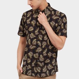 Harga odza classic kemeja batik garuda jingga   hitam   HARGALOKA.COM