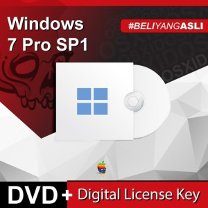 Harga windows 7 pro sp1   original license   | HARGALOKA.COM