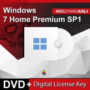 Harga windows 7 home premium sp1   original license   | HARGALOKA.COM