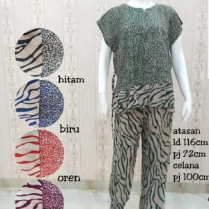 Harga baju tidur wanita piyama rayon etnik murah nyaman sangat   HARGALOKA.COM