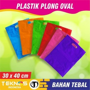 Harga plastik hd plong tebal kresek olshop packing baju ecer 30x40 | HARGALOKA.COM