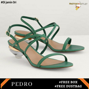 Harga sepatu heels pedro original store fo912   green | HARGALOKA.COM