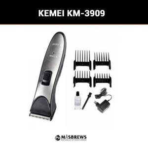 Harga kemei km  3909 hair trimmer alat mesin potong cukur rambut | HARGALOKA.COM