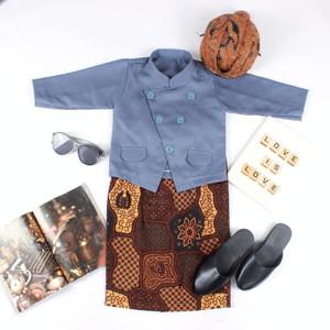 Harga baju anak kostum jawa setelan beskap bayi dan anak   2 3 tahun | HARGALOKA.COM