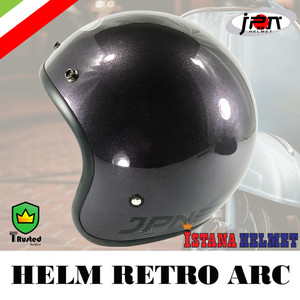 Harga helm batok jpn retro arc   | HARGALOKA.COM