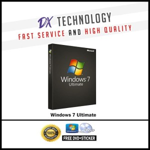 Harga windows 7 ultimate lisensi original genuine microsoft free dvd | HARGALOKA.COM