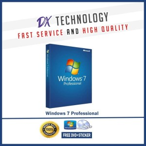 Harga windows 7 pro lisensi original genuine microsoft free dvd | HARGALOKA.COM