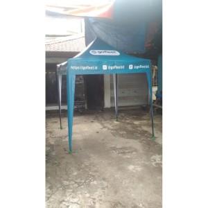 Harga tenda lipat printing brand atau logo ukuran 2x2 0 6mm   | HARGALOKA.COM