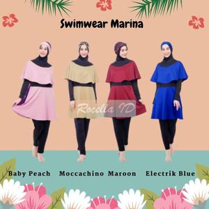 Harga rocella swimwear marina baju renang premium baju renang muslimah   pilih warna | HARGALOKA.COM