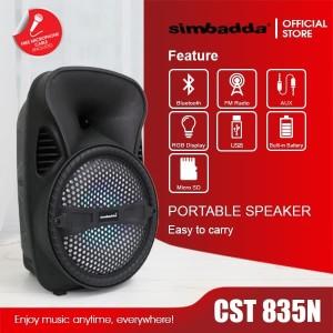 Harga simbadda cst 835n free mic | HARGALOKA.COM