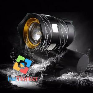 Harga lampu sepeda led cree xml t6 zoom usb recharge 15000 lumen zoomable   | HARGALOKA.COM