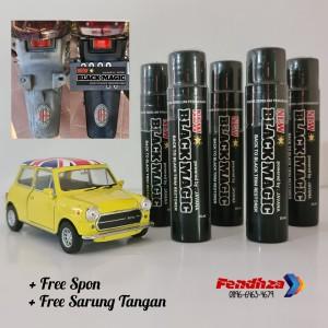 Harga black magic 35ml penghitam trim body motor mobil dashboard bumper | HARGALOKA.COM