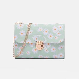 Harga tas selempang wanita impor bunga daisy flower vintage tas007 lomenia   | HARGALOKA.COM