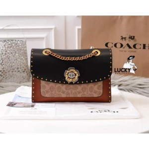 Harga coach parker with rivets and snakeskin   original guarantee 100 | HARGALOKA.COM