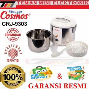 Harga magic com cosmos crj 9303 rice cooker stainless steel inner | HARGALOKA.COM