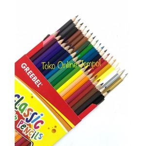 Harga atk86gb 36 warna classic greebel kardus 7036 pensil warna pencil | HARGALOKA.COM